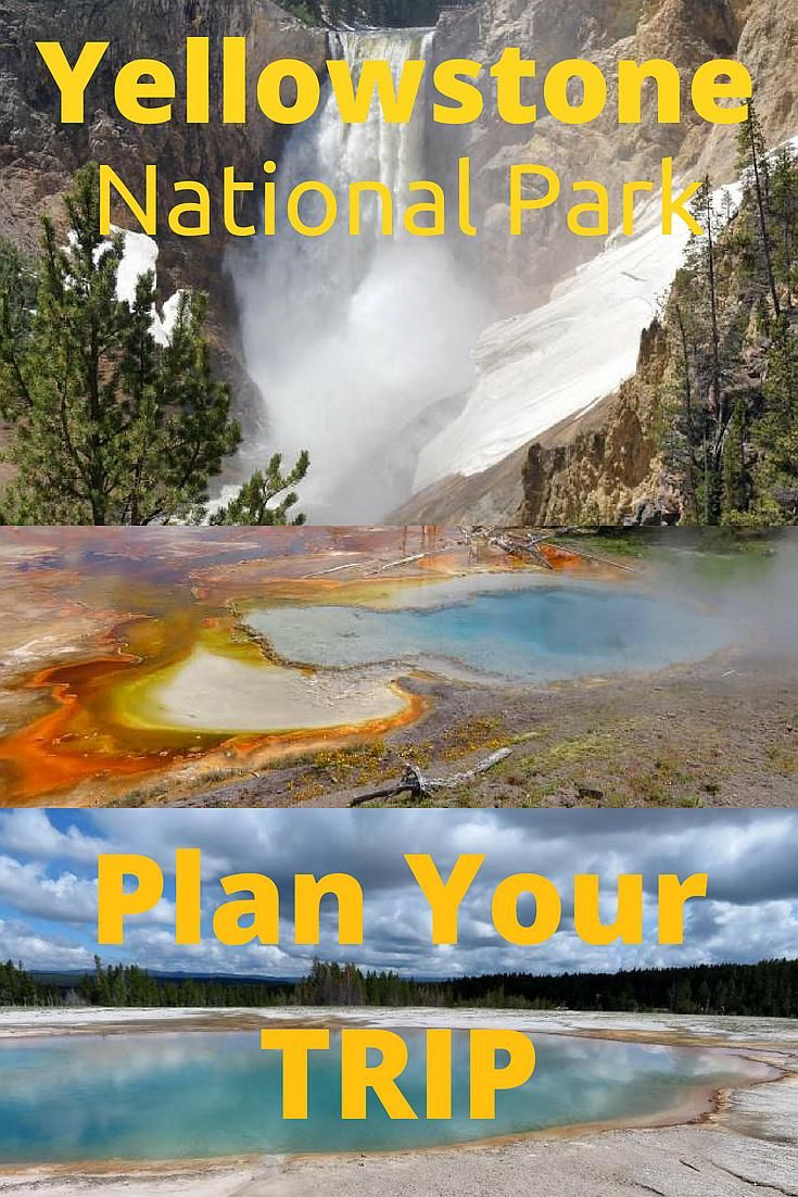 Planning A Trip To Yellowstone National Park Practical Guide