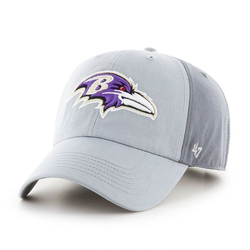low priced 6e768 fe7c3 NFL Baltimore Ravens Storm Northside  47 Brand Clean Up Adjustable Hat