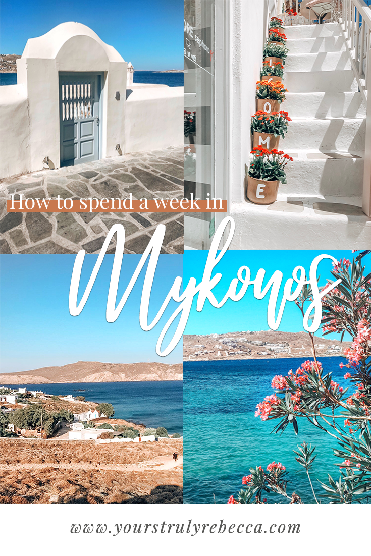 How To Spend A Week In Mykonos #visitgreece
