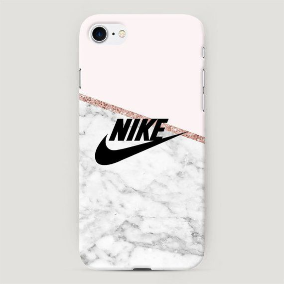 Nike iPhone Case, Grey and Pink iPhone XR Case, Cute Case