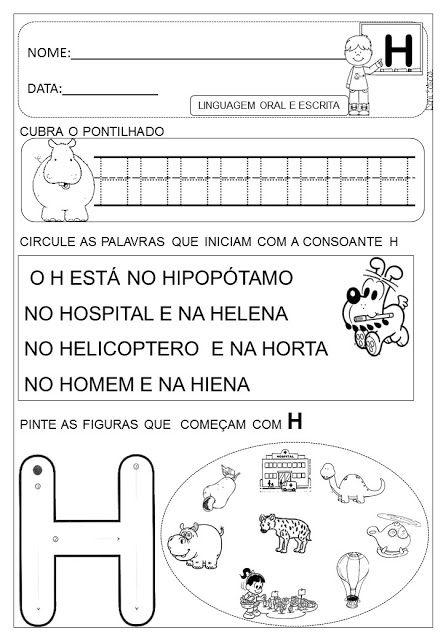 dani educar alfabetização escola pinterest portuguese