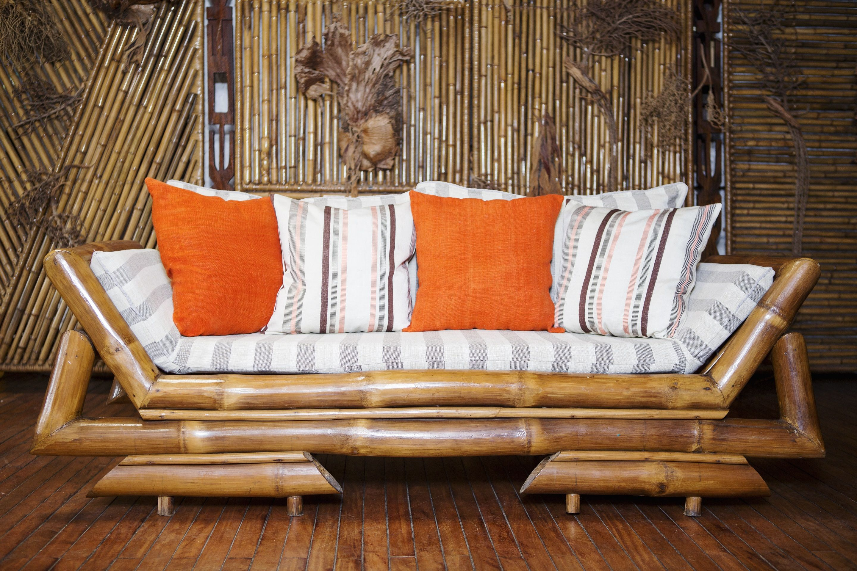 Handmade Cushions By Artisans From Cameroon Orange Is The New Black Interiordesign Craftmanship Artisan Orange Stripes Handmade Cushions Cushions Home
