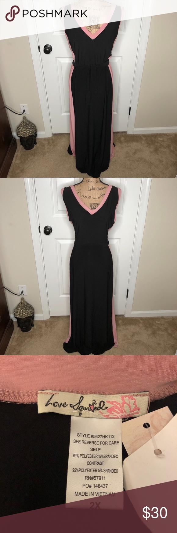 Love Squared Summer Dress New Size 2x Summer Dresses Dresses Summer Maxi Dress [ 1740 x 580 Pixel ]