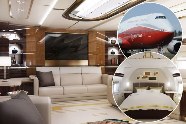 Luxury Plane Firm Unveils 400 Million Boeing Customised With Restaurant And Bedrooms Mirror Online
