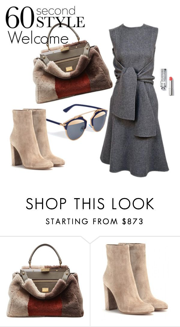 """Welcome"" by charlotte-shuann ❤ liked on Polyvore featuring мода, Fendi и Gianvito Rossi"