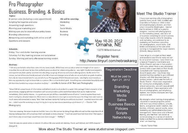 Nebraska Photographers Workshop, May 2012