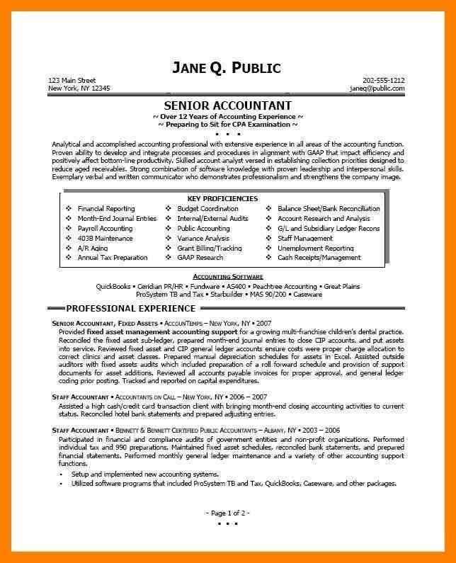 Image Result For Accountant Resumes Examples ResumeWritingExamples
