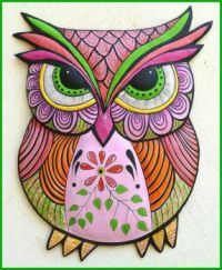 Wall Hanging Owl