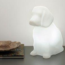 DOG CLUB: Luminária Lola Branca