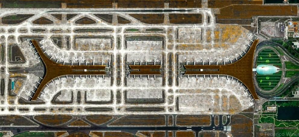 Il satellite come macchina fotografica: il mondo visto dall'alto