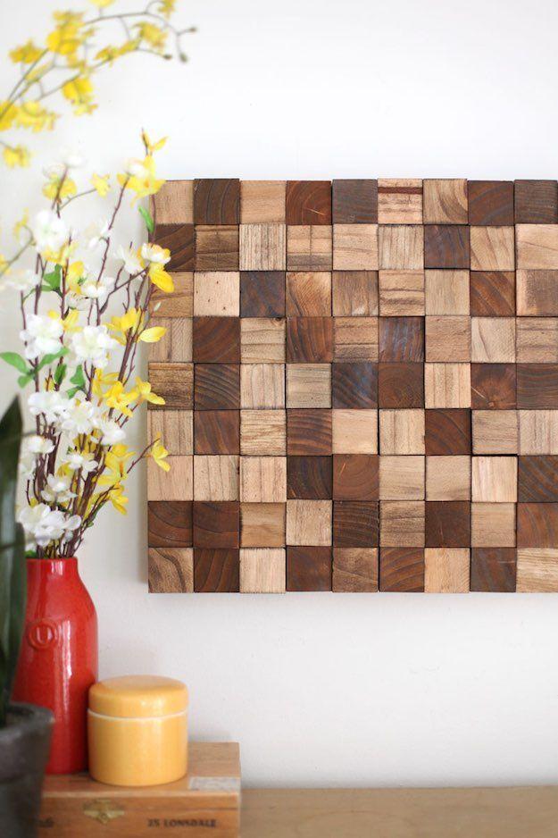 11 Creative Wood Wall Art Ideas Weekend Diy Projects Wooden