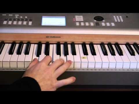 Easy To Play Piano My Redeemer Lives Matt Mccoy Youtube