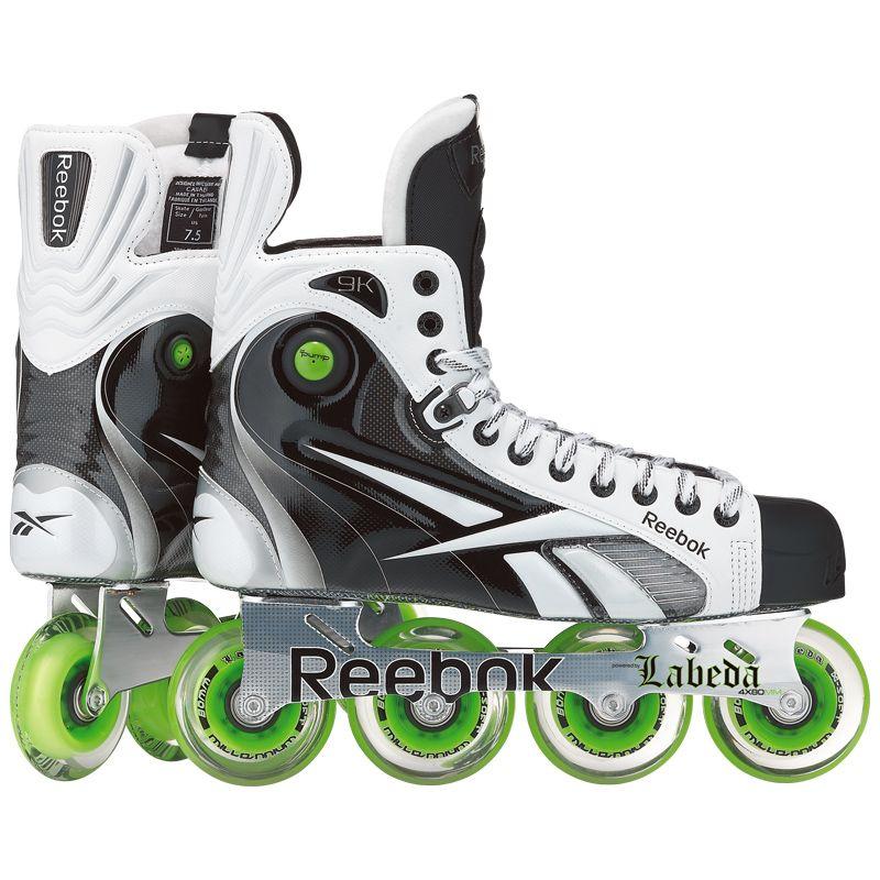 Reebok 9k Pump Sr Inline Hockey Skates Roller Hockey Skates Inline Hockey Reebok