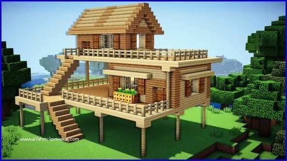 Minecraft House Ideas Step By Step And Minecraft Houses Easy Tiny And Small House Tutorials Minecraft Starter House Cute Minecraft Houses Minecraft Beach House