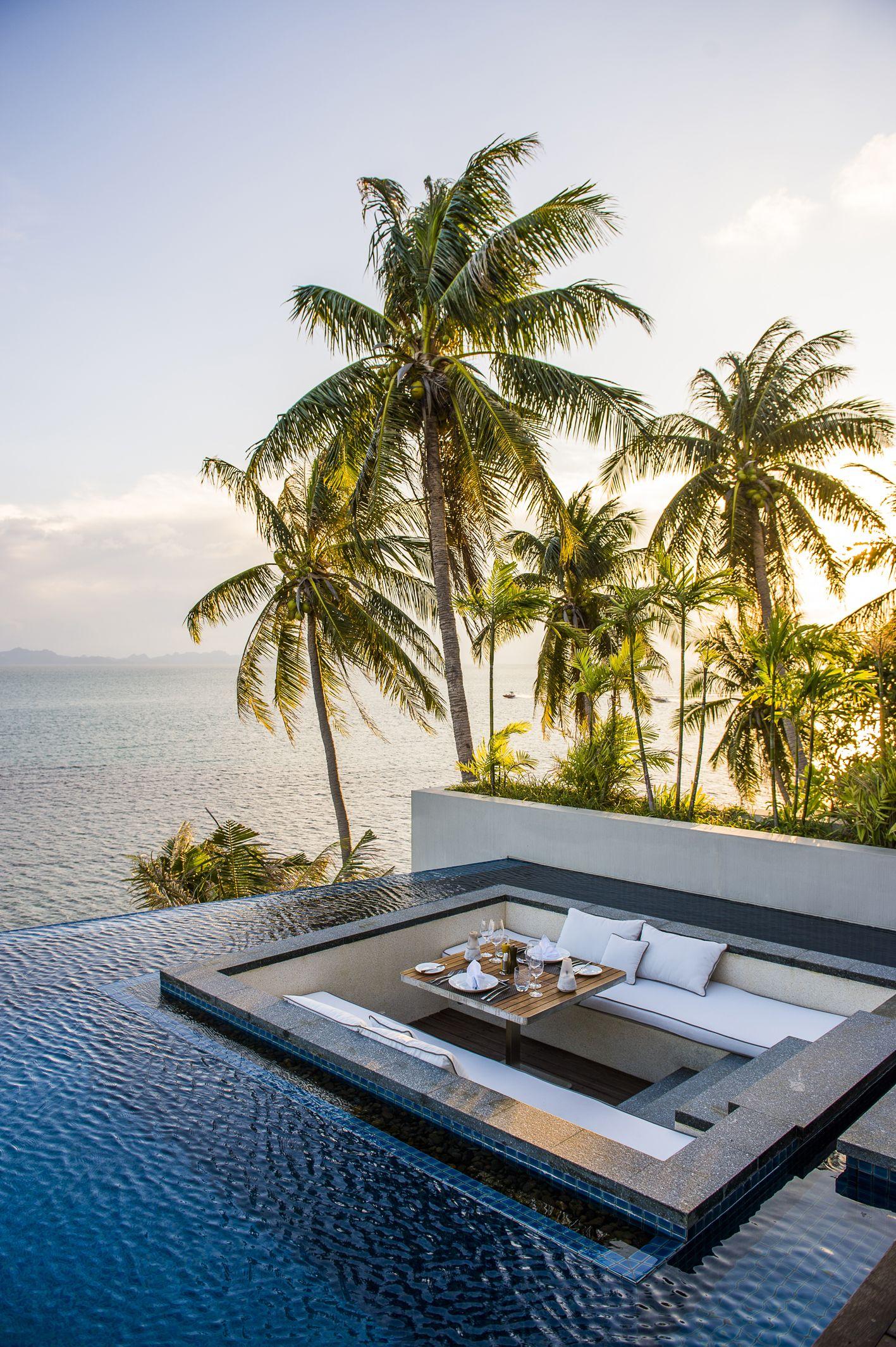 Infinity Pool Conrad Royal  Oceanview…