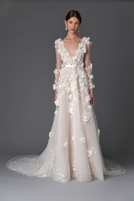 115 Effortless Looks for the Boho Bride | Marchesa, Boho and Wedding ...
