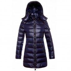 54b0b13356e7 Moncler Doudoune Femme - Soldes Moncler Puffer Coat Doudoune Femme Bleu