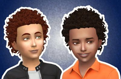 The Sims 4 My Stuff Close Curls Hairstyle New Mesh Natural