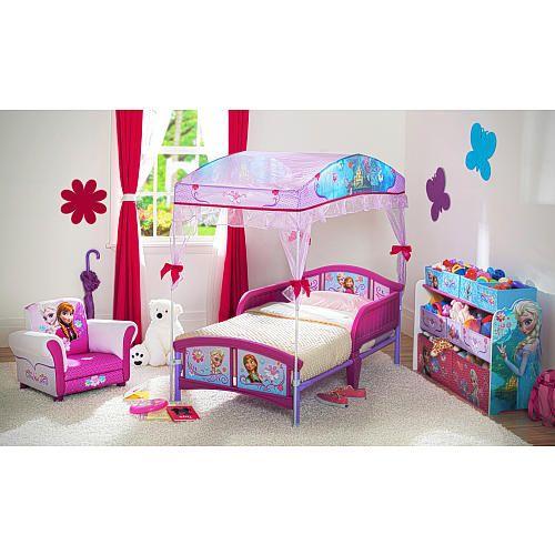 Disney Frozen Canopy Toddler Bed Delta Toys R Us Toddler