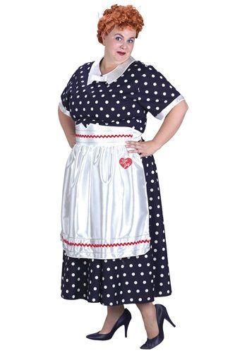 Plus Size I Love Lucy Costume $34.99 Halloween Costumes.com Mrs. Teavee  sc 1 st  Pinterest & Plus Size I Love Lucy Costume $34.99 Halloween Costumes.com Mrs ...