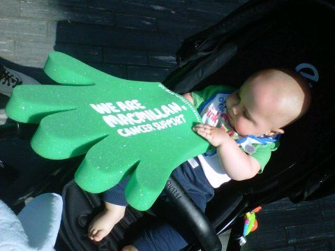 Meet Barnie, our youngest Macmillan fundraiser