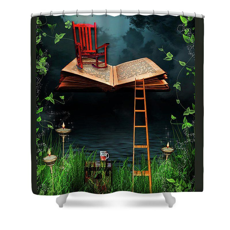 My Book Said Come Fly With Me Shower Curtain For Sale By