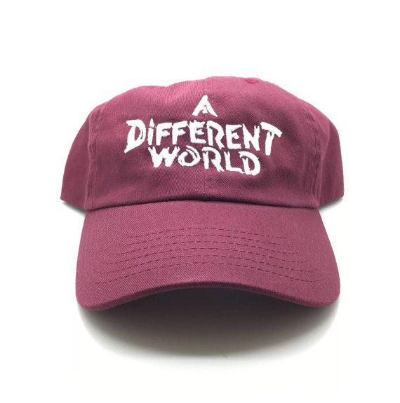 83f290e1e5e Living Savage 90 s TV Living Single Inspired Dark Denim Distressed Dad Hat