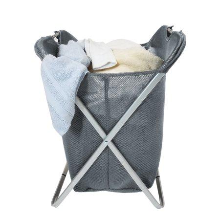 Homz Air Mesh X Frame Laundry Hamper Grey Set Of 1 Gray In 2019