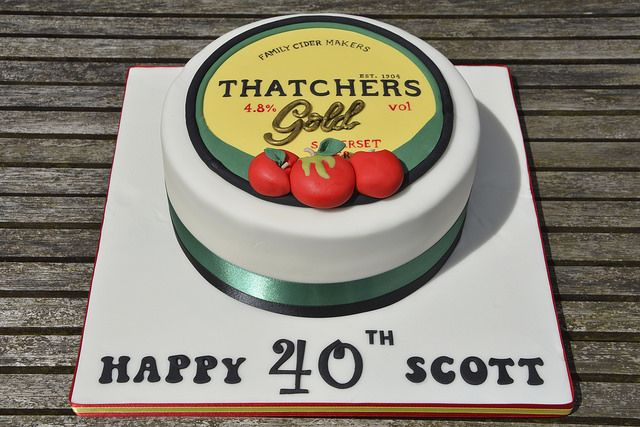 Thatchers Gold Cake | Flickr - Photo Sharing!