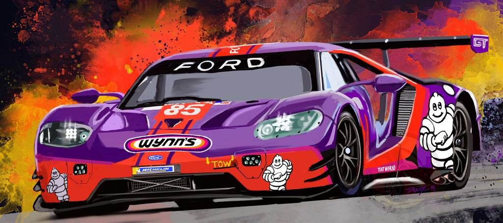 2019 Wynn S Racing Ford Gt Ford Gt Ford Ford Mustang Cobra