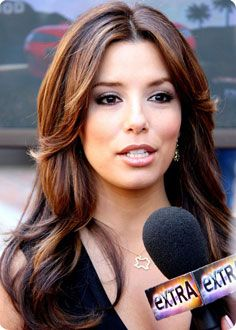 balayage cheveux eva longoria. Black Bedroom Furniture Sets. Home Design Ideas