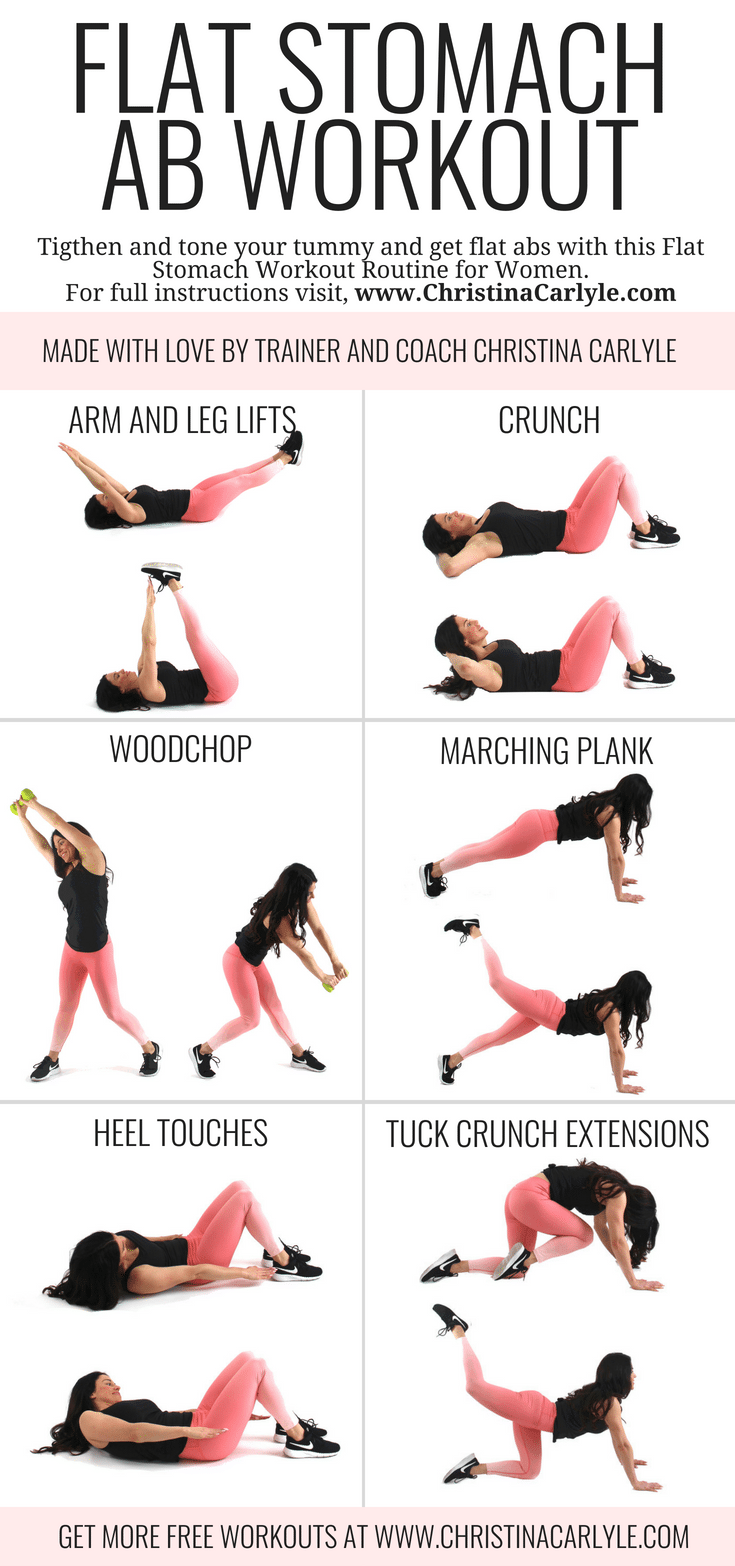 19 workouts for flat stomach for beginners ideas