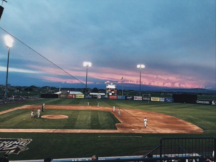Baseball Sky Skies Vsco Summer Games Aesthetic Mood In 2020 Travel Aesthetic High School Romance How To Memorize Things