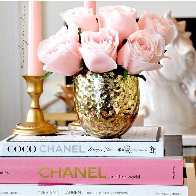 Nicky Sinclair Nicky Sinclair Blush Pink Roses Instagram Photo Websta Glam Coffee Table Home Decor Accessories Decor