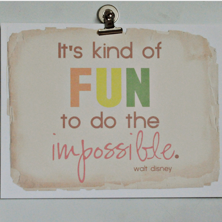 Fun inspirational free printable.  Double click photo to get to download link.