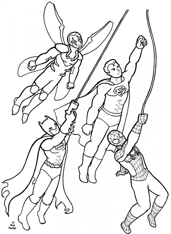 Batman Beyond Coloring Page : Printable Coloring Book ...
