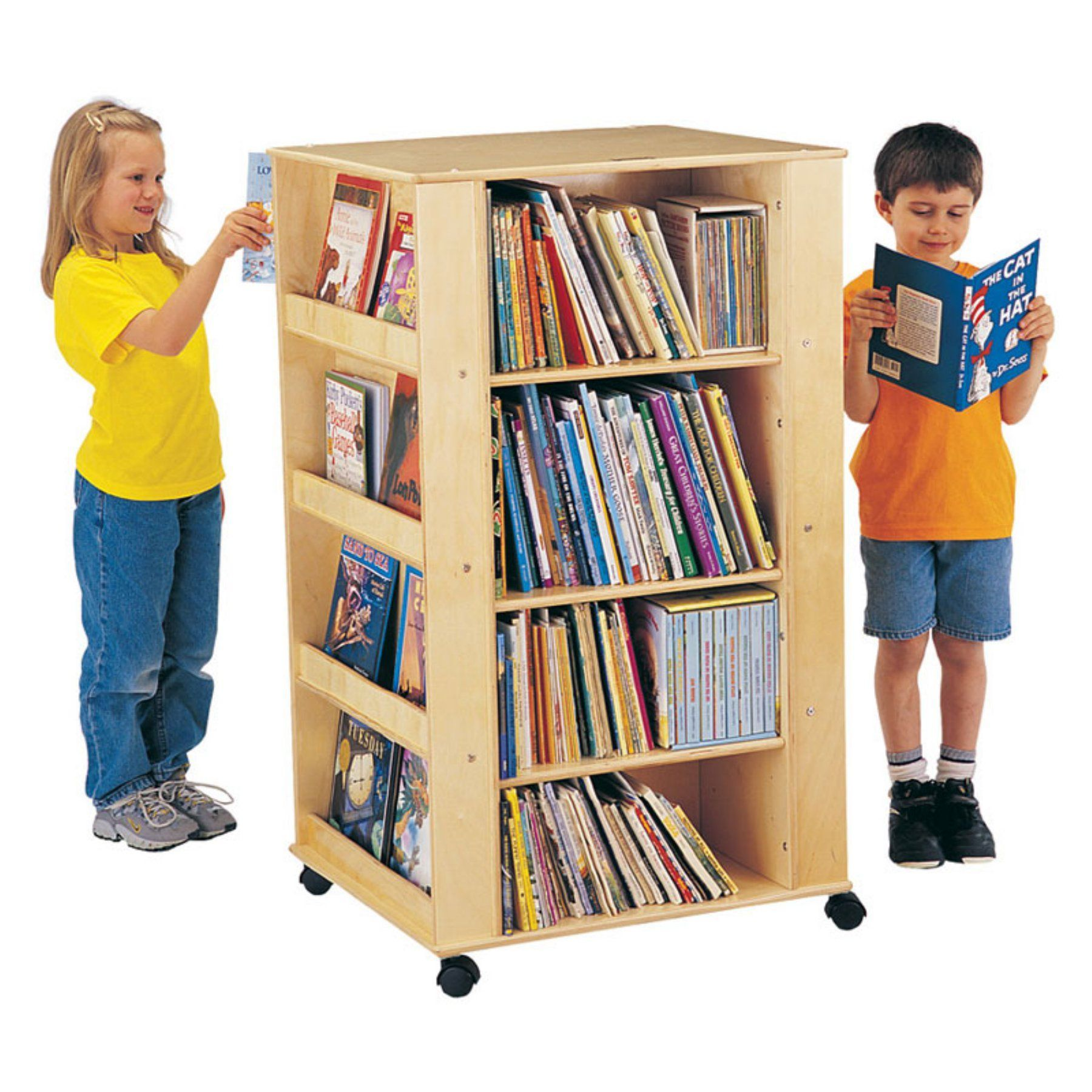 Boys' loft bed with slide (box 2)  JontiCraft Kydz Media Tower Bookcase  JC  Media towers