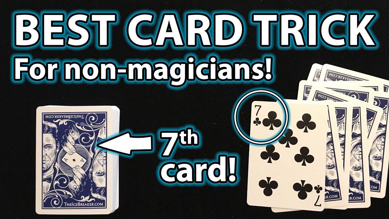 best magic card trick for anyone revealed card at random