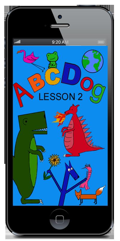 ABC App Lesson 2. The Letters DEF Kids app, Abc app, Abc