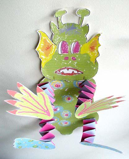 Monstre Vert D Halloween Halloween Tete A Modeler Halloween Monstre Creations D Halloween