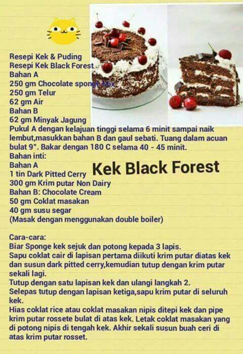 Black Forrest Cake Cake Recipes Cookie Cake Recipe Yummy Cakes