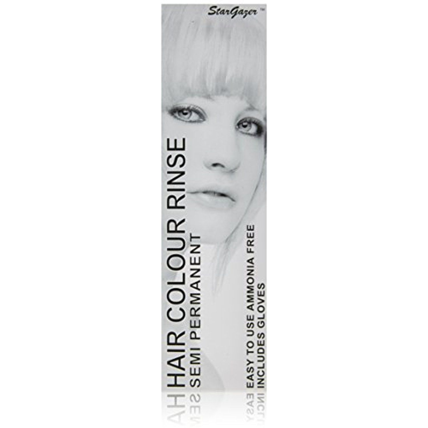 Stargazer Semi Permanent Hair Color White Amonia Free Hair Dye