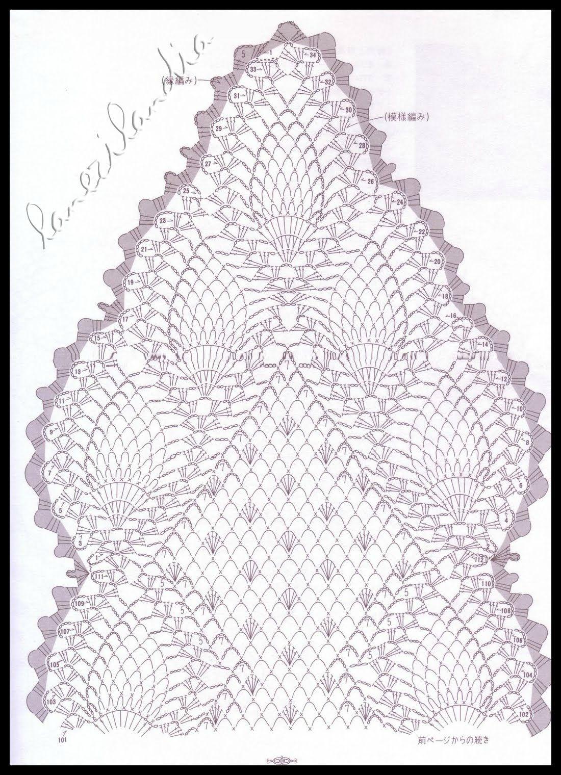 Napperon Dentelle Crochet 2