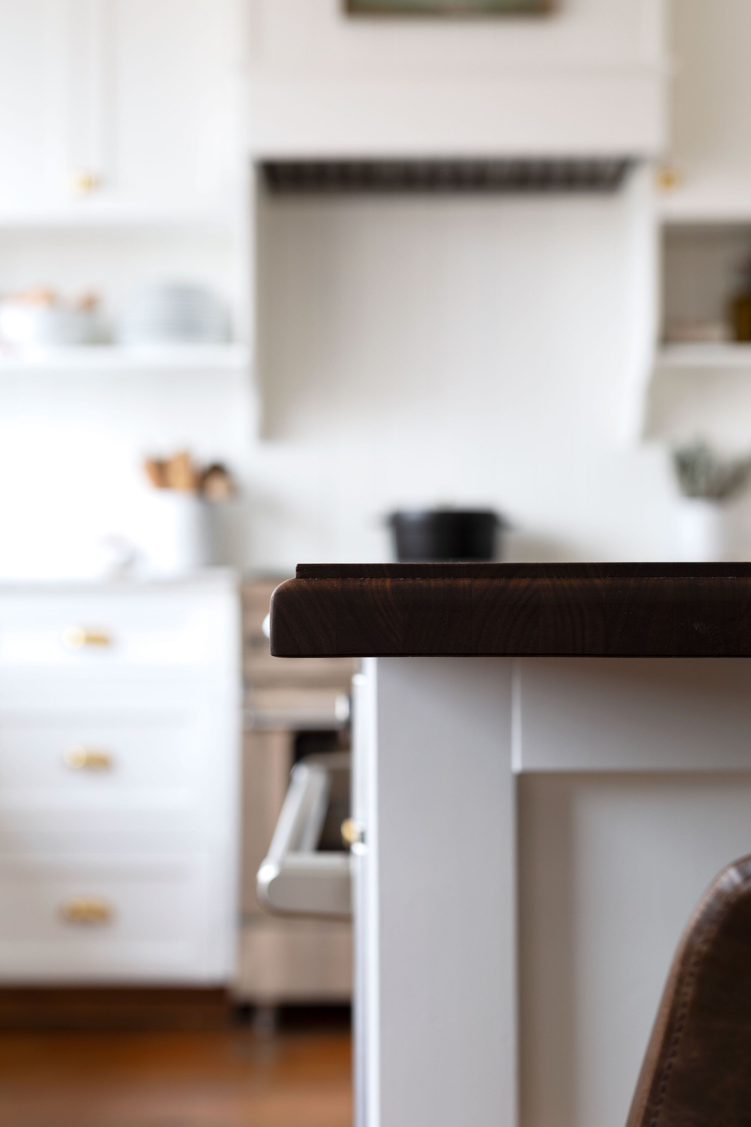 Diy How To Router A Butcher Block Edge Marble Countertops