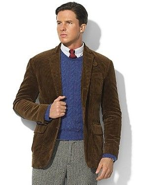 Polo Ralph Lauren Cambridge Corduroy Sport Coat Profile Photo ...