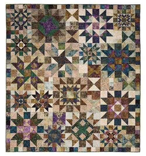 River Rock Block Of The Month Keepsake Quilting Quilts