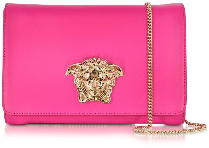 918baa76b5 Versace Palazzo Marilyn Pink Leather Crossbody. Find this Pin and more on  bags ...