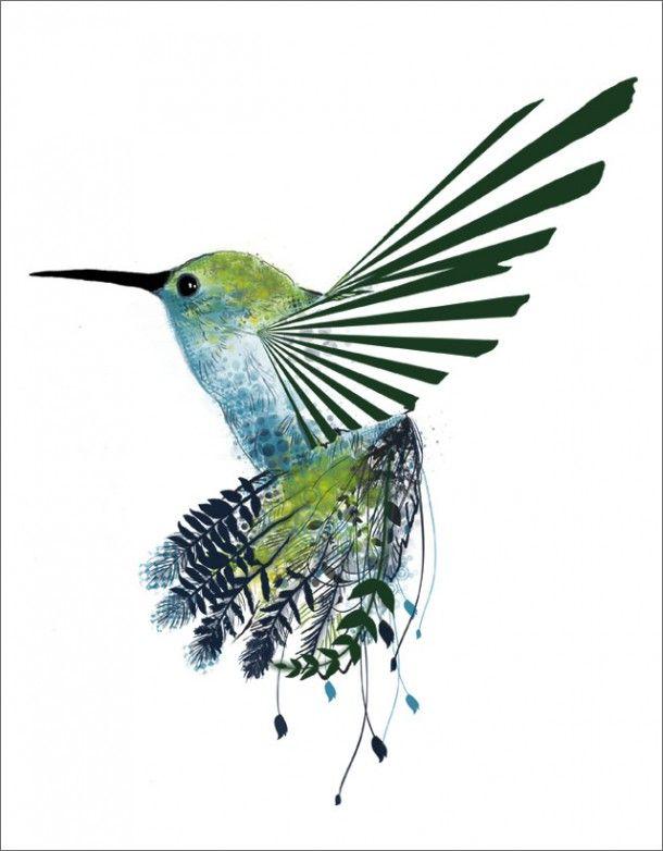 Tatuaz Koliber Symbolika Szukaj W Google Hummingbird Art Hummingbird Tattoo Bird Art