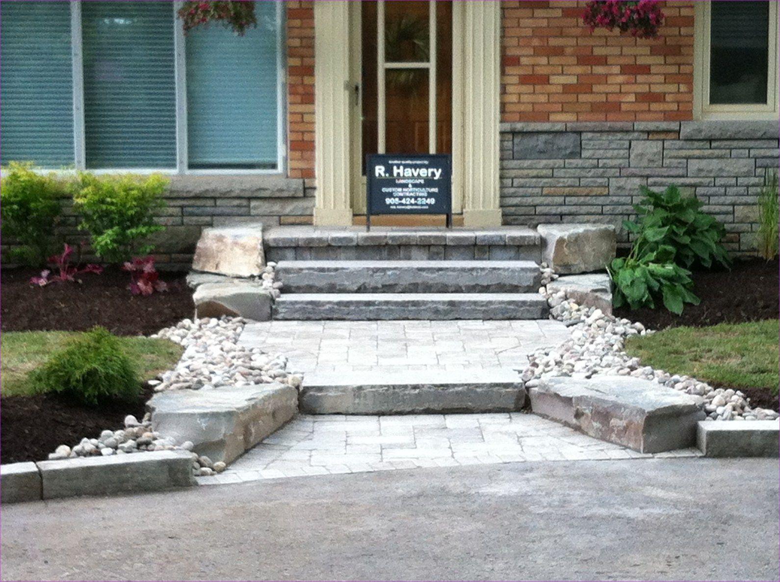 stunning landscaping front entrance design ideas also exterior rh pinterest