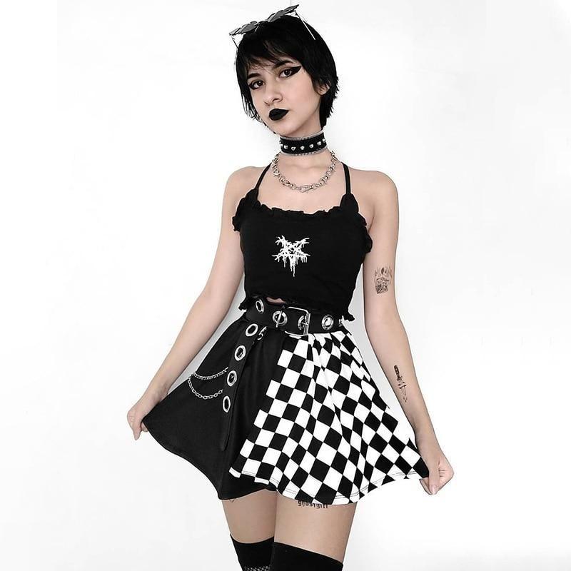 GOTHIC SEXY SKIRT™ - Gothic Sexy Skirt / M